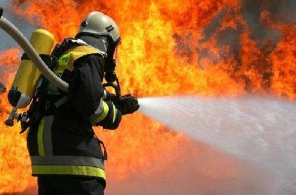 На Черкащині в технічному пункті теплотраси сталася пожежа