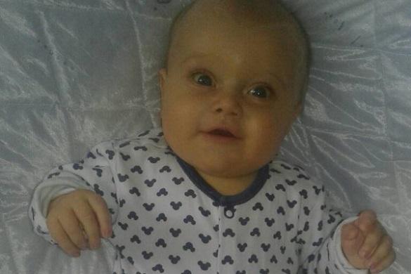 Шестимісячному малюку з Черкащини терміново потрібна допомога