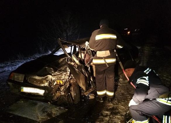 На Черкащині сталася смертельна ДТП за участі автобуса (ФОТО)