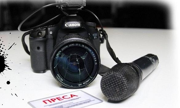 У Черкаській області хулігани побили журналістів на очах у поліції