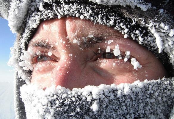 На Черкащині прогнозують сильні морози