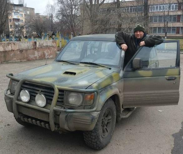 Черкаські волонтери допомогли реставрувати бійцівське авто