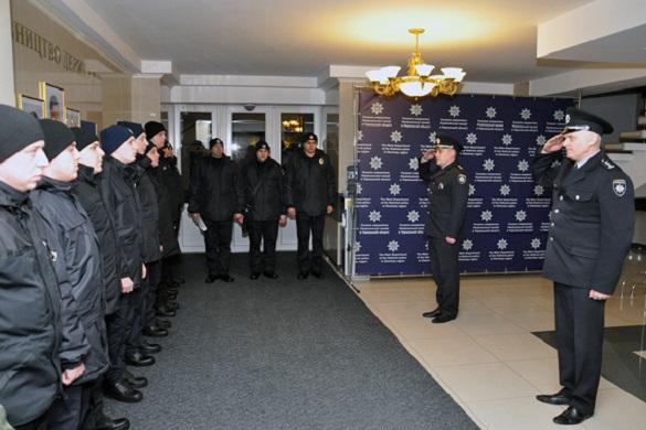 Черкаські правоохоронці вирушили на схід (ФОТО, ВІДЕО)