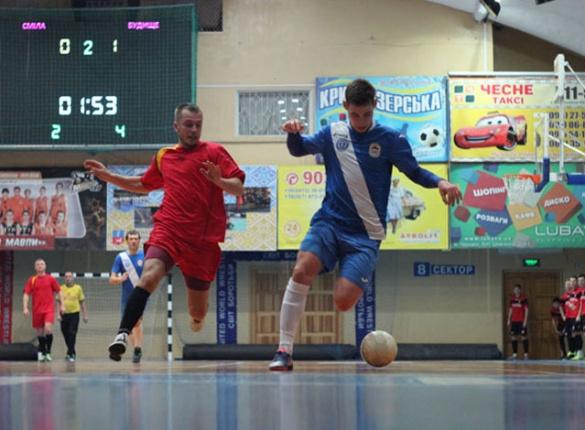 Якими були результати дев'ятого туру чемпіонату Черкащини із футзалу?