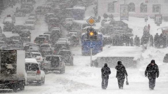 Черкаські синоптики попереджають про сильний снігопад та негоду