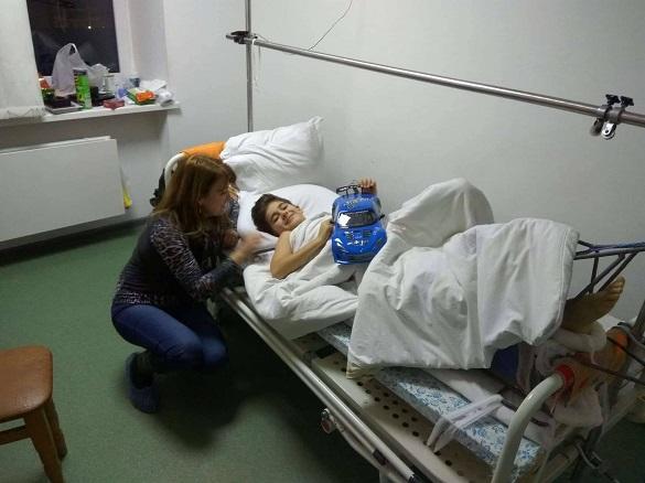 Син загиблого героя АТО з Черкас потребує допомоги небайдужих