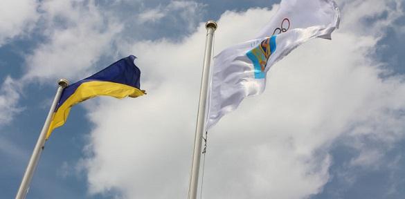 У Черкасах замайорів олімпійський прапор (ВІДЕО)