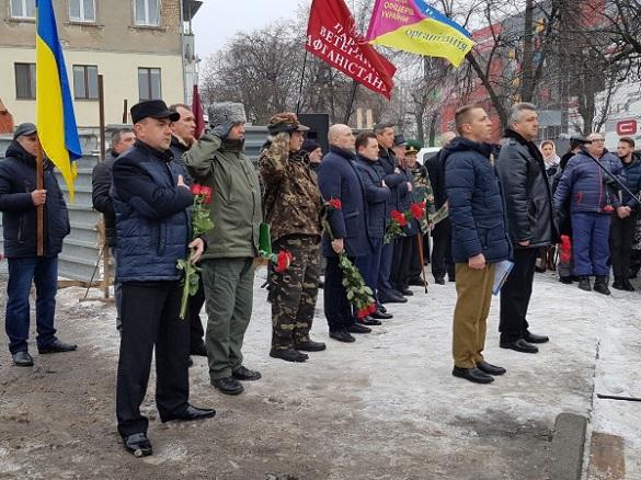 У Черкасах відзначили учасників боїв на території інших держав, які нині захищають Україну