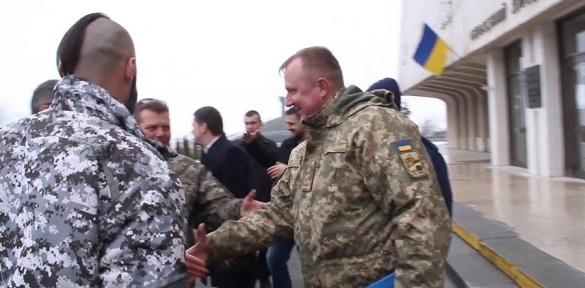 Герой України Сергій Шаптала зустрівся в Черкасах з побратимами (ВІДЕО)