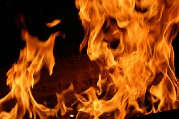 У черкаській п'ятиповерхівці сталася пожежа (ВІДЕО)