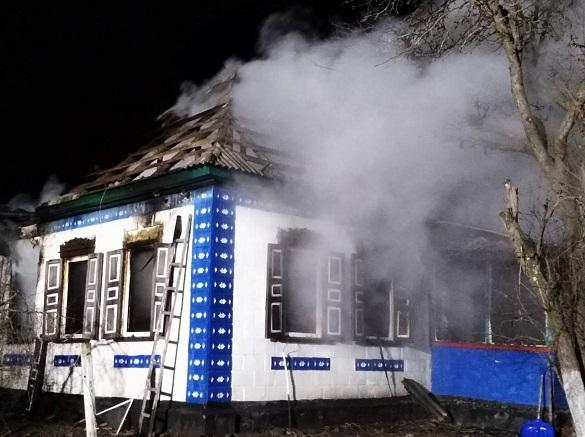 На Черкащині під час пожежі трагічно загинуло подружжя пенсіонерів (ФОТО)