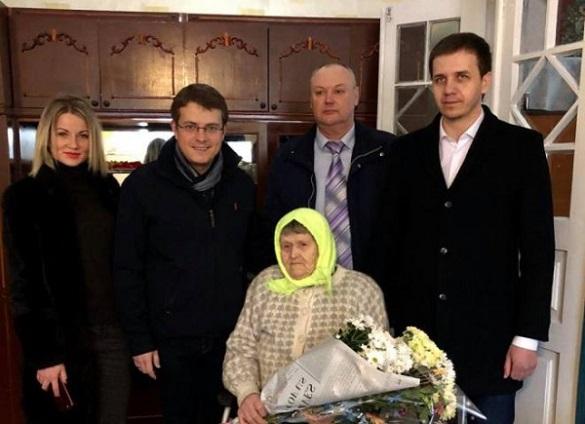 Жителька Черкащини відзначила 100-річний ювілей