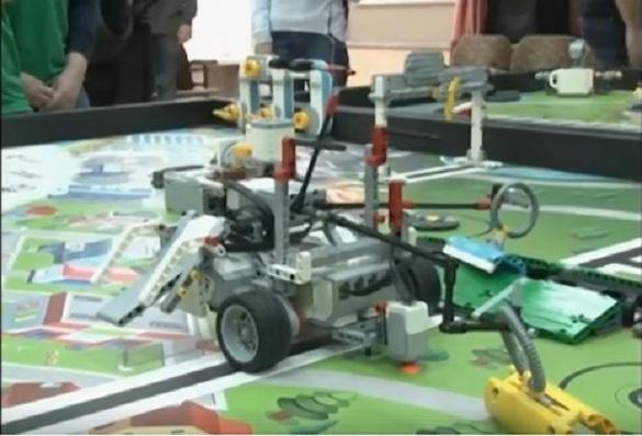 У Черкасах пройшов  фестиваль з робототехніки (ВІДЕО)