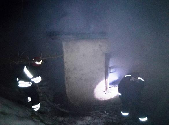 На Черкащині горів житловий будинок: загинув чоловік