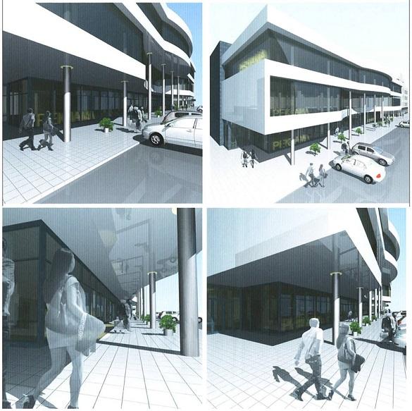 Стали відомі подробиці будівництва ще одного торговельного центру в центрі Черкас