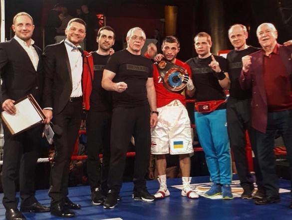 Черкаський боксер Беселія став чемпіоном України