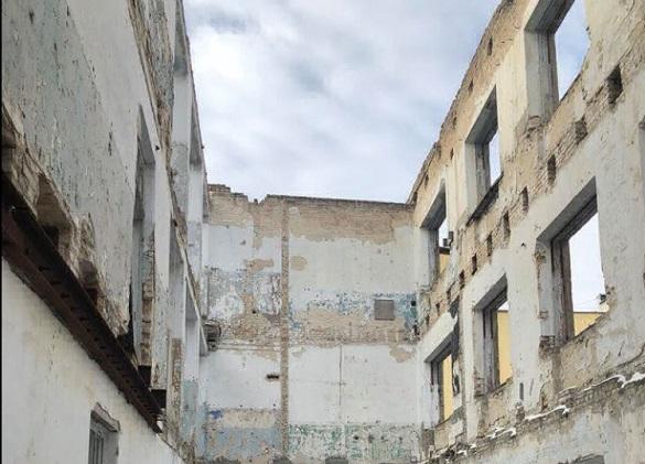 Цьогоріч відбудують згорілий корпус черкаського університету