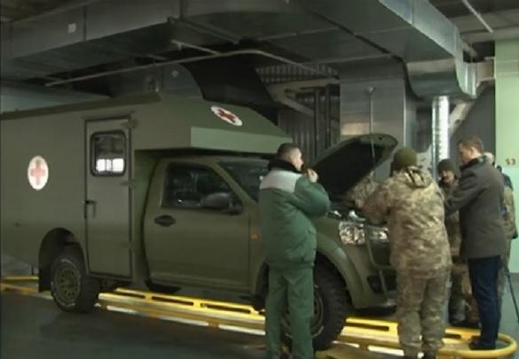 У Черкасах військових вчать користуватися санітарними автомобілями