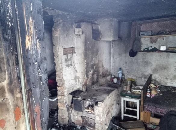 У Черкаській області під час пожежі загинув господар помешкання (ФОТО, ВІДЕО)