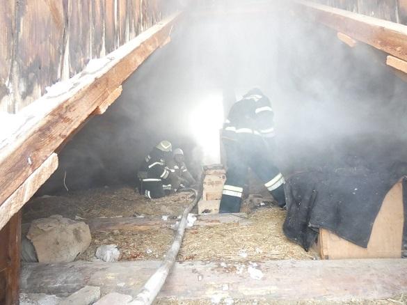 На Черкащині протягом доби горіли два житлових будинки (ФОТО)