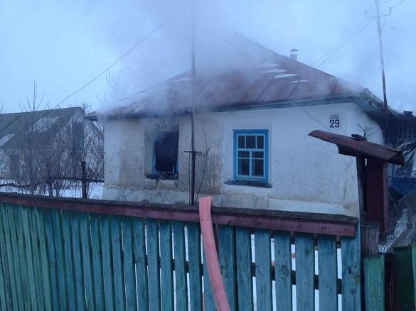На Черкащині під час пожежі у будинку загинула жінка (ФОТО)