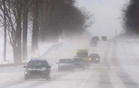 До уваги водіїв: у Черкасах та області - туман та ожеледиця