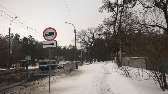 На деяких черкаських вулицях заборонили рух вантажівок