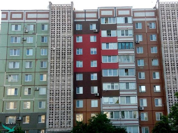 У Черкасах хочуть, щоб багатоповерхівки різних мікрорайонів мали свої кольори