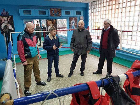 Заступник мера Черкас сприятиме оновленню басейну та будівництву футбольного поля