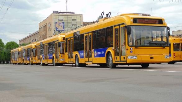 У Черкасах курсуватимуть нові тролейбуси
