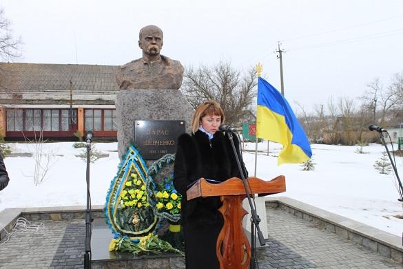 На Черкащині відкрили пам'ятник Кобзареві (ФОТО)