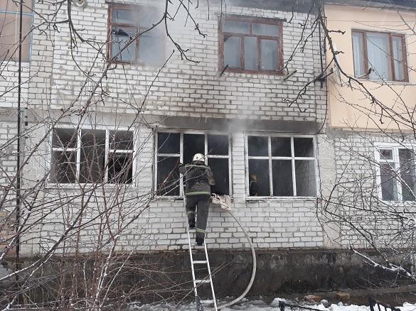 На Черкащині горіла квартира: загинув чоловік (ФОТО)