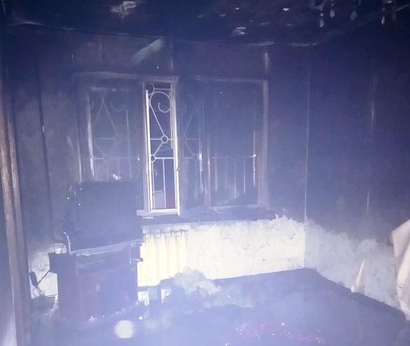 У Черкасах під час пожежі в багатоповерхівці винесли 8–річного хлопчика