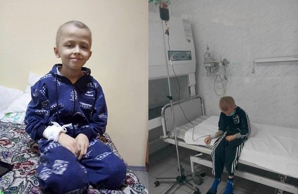 Маленький черкащанин терміново потребує донорів крові