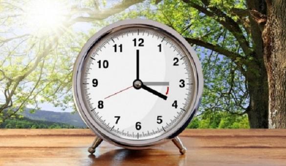 На цих вихідних черкащани мають перевести годинники