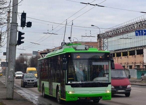 Черкаські тролейбуси змінили свій маршрут