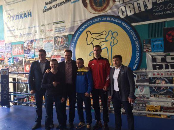 На Черкащині відзначили боксера, який здобув міжнародний успіх