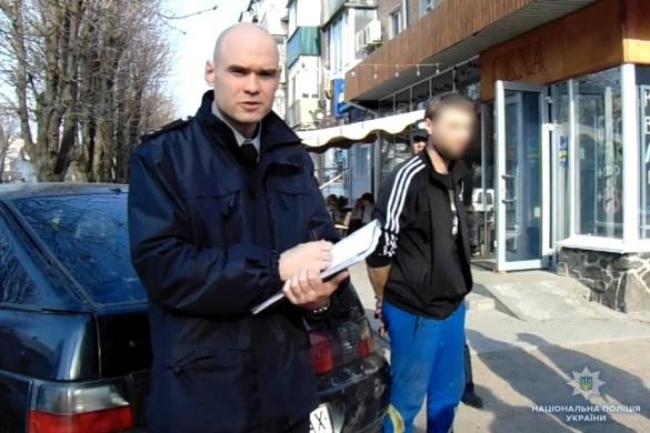 На Черкащині затримали нетверезого водія з наркотиками