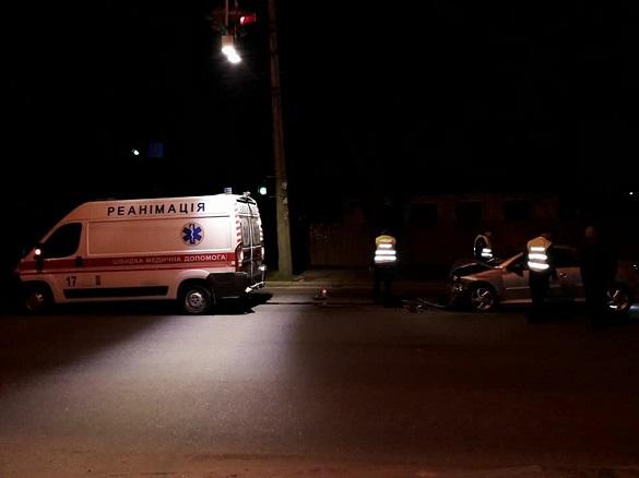 У Черкасах через п'яного водія у ДТП потрапила