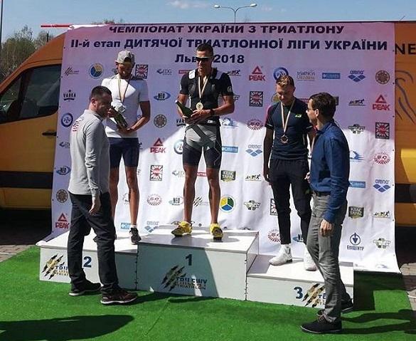Черкаський триатлоніст став чемпіоном України