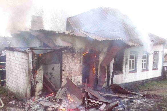 Родина з Черкащини ледь не згоріла в орендованому будинку (ФОТО)
