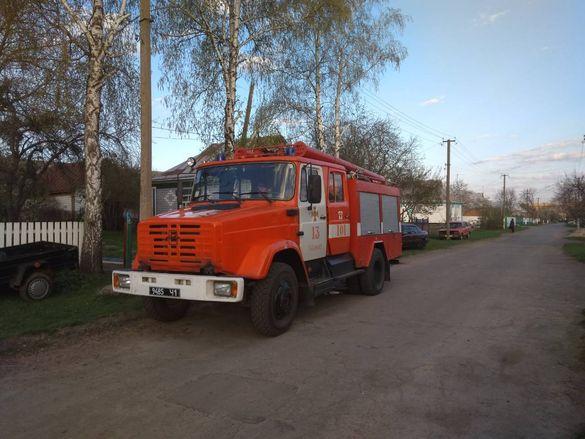 Дитячі пустощі: на Черкащині трапилася пожежа (ФОТО)