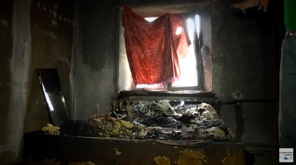 На Черкащині через пожежу померла дівчинка та її дідусь-рятівник (ВІДЕО)