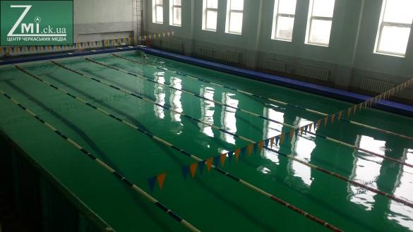 Черкащани мають можливість влітку відвідувати басейн на стадіоні