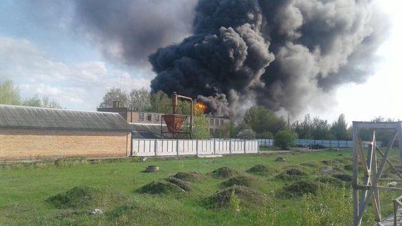 Без паніки: в одному з районів Черкас горіли автомобільні шини