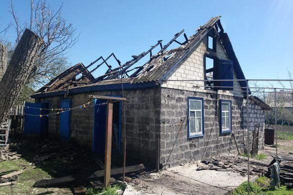 На Черкащині діти мало не спалили будинок (ФОТО)