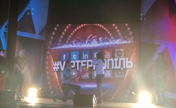 Черкащанин освідчився коханій під час комедійного шоу (ВІДЕО)
