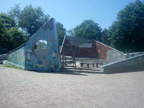 Черкаський дитячий парк зазнає змін