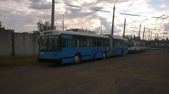 Черкаські тролейбуси осучаснюють (ФОТО)