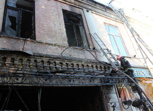 Пошкоджену музичну школу під час резонансної пожежі в Золотоноші відремонтують